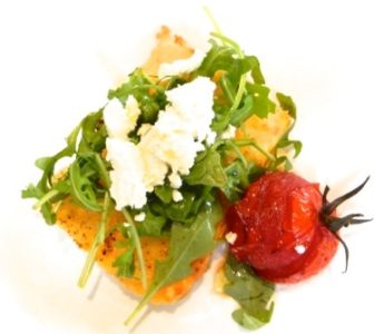 Grilled Parmesan, Polenta and Rocket Salad - Physio Direct NZ