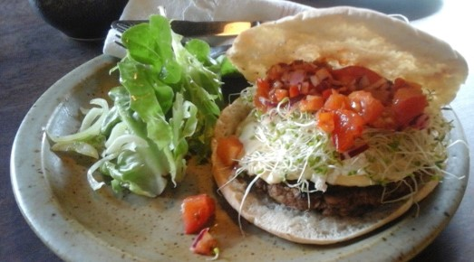 Mushroom and walnut burgers rural physio at your doorstep for Aroha new zealand cuisine menu