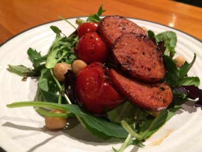 Chickpea, Chorizo and Tomato Salad - Physio Direct NZ