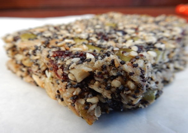 Cranberry & Mixed Seed Slice - Physio Direct NZ