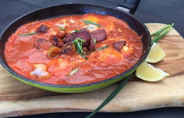 Shakshuka israeli breakfast dish rural physio at your for Aroha new zealand cuisine menu