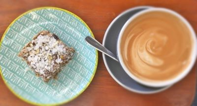 Raw Lemon and Coconut Slice - Physio Direct NZ