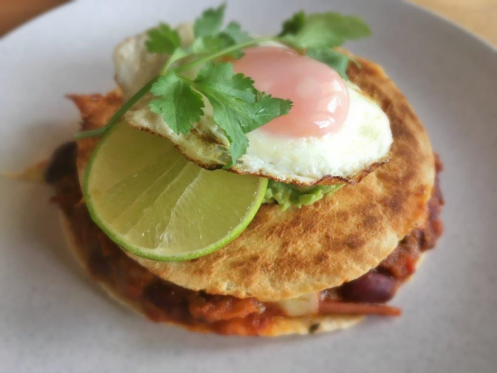 Breakfast Quesadilla - Physio Direct NZ