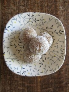 Coconut and Date Bliss Balls - Physio Direct NZ