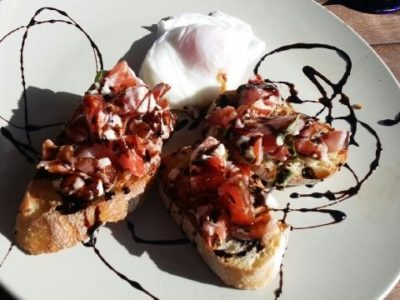 Tomato Bruschetta with Feta and Balsamic - Physio Direct NZ