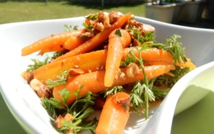 Baby Carrot and Almond Salad - Physio Direct NZ