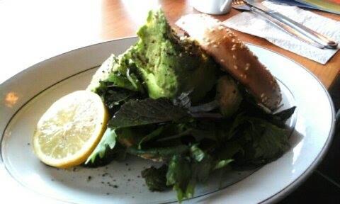 Smashed Avocado, Feta and Rocket Bagel - Physio Direct NZ