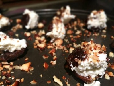 Roasted Dates With Almond & Ricotta - Physio Direct NZ