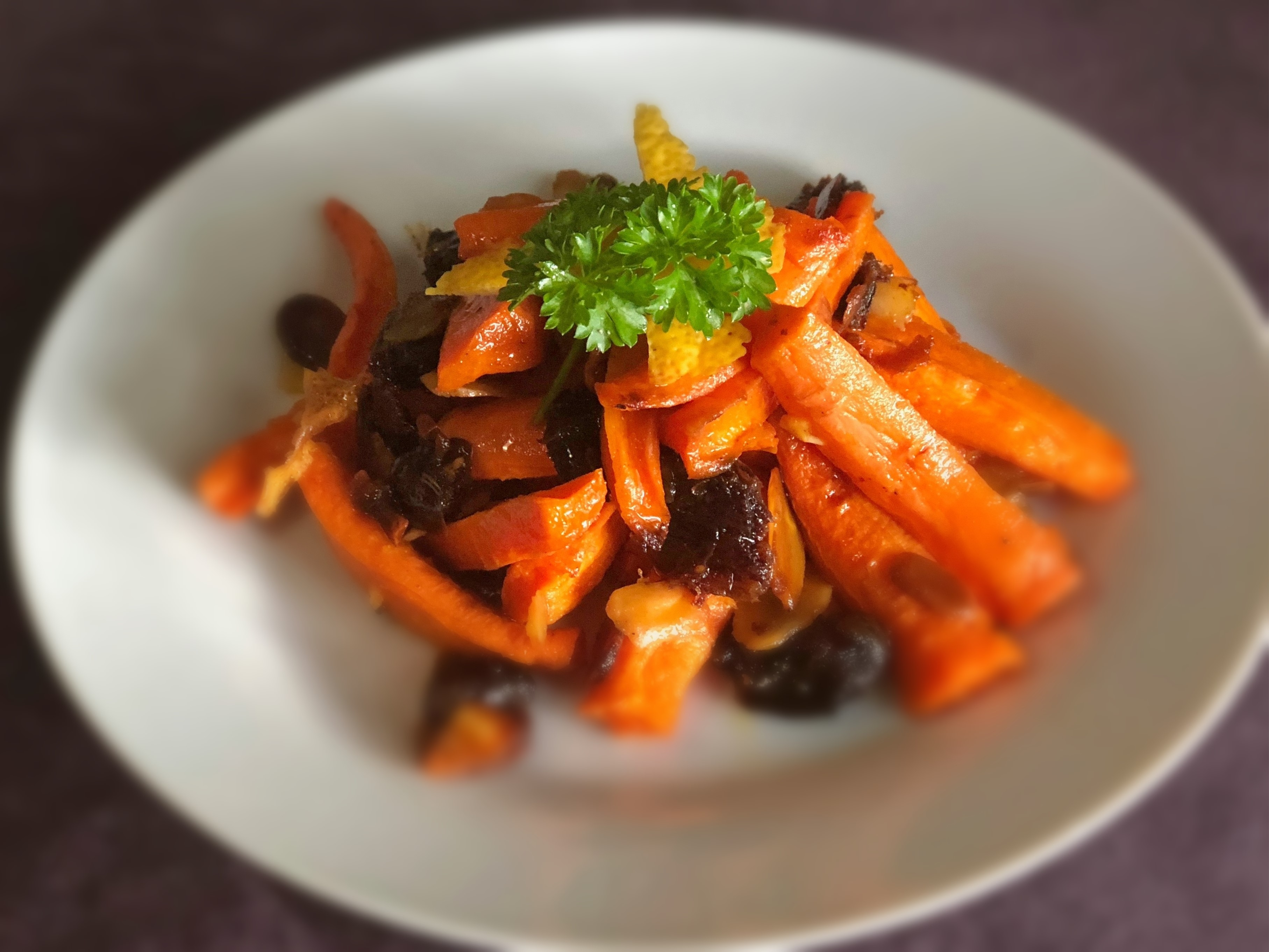 Roasted Carrot, Date & Almond Salad - Physio Direct NZ