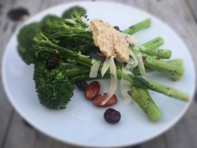 Broccolini, Blueberry and Parmesan Salad - Physio Direct NZ