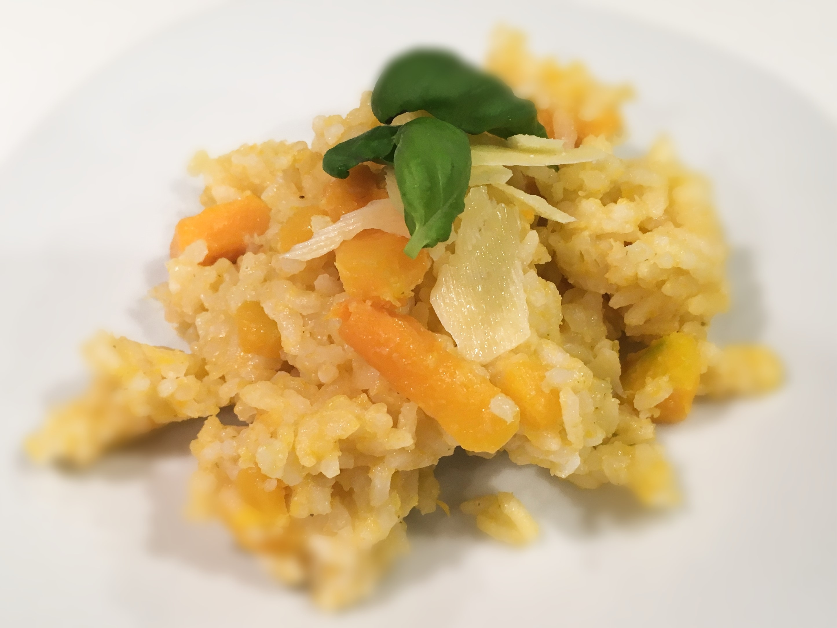 Pumpkin and Parmesan Risotto - Physio Direct NZ