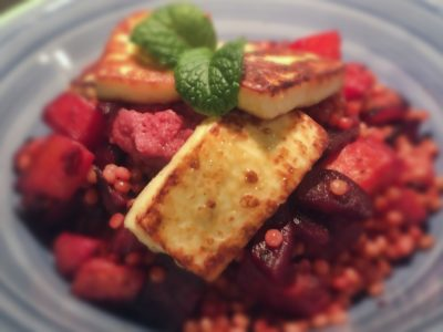 Beetroot & Haloumi Couscous Salad - Physio Direct NZ
