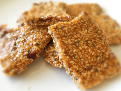 Honey, Date & Sesame Brittle - Physio Direct NZ