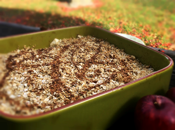 Homemade Apple Crumble - Physio Direct NZ