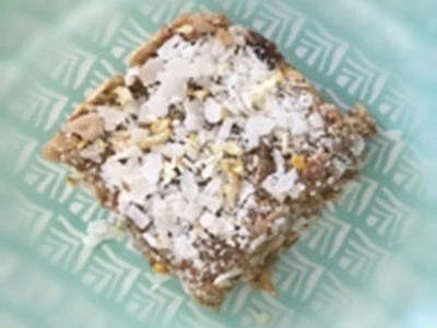 Raw Date & Coconut Slice - Physio Direct NZ