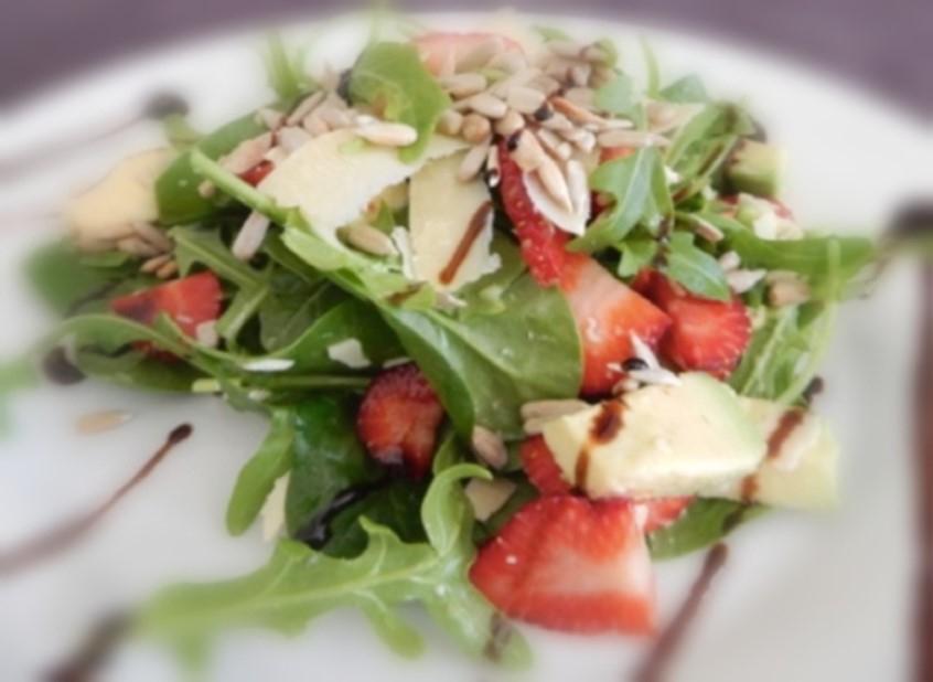 Strawberry & Parmesan Salad - Physio Direct NZ
